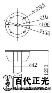 金屬標準加厚型風向標,金屬風向袋,風向標氣